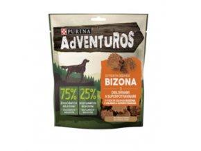ADVENTUROS Sticks 90g s bizoní příchutí