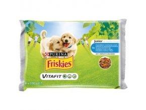 friskies puppy 4 x 100g