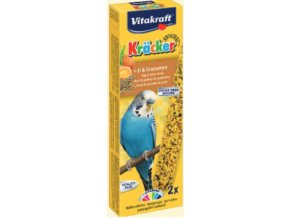 Kracker andulka – travní semínko a vejce