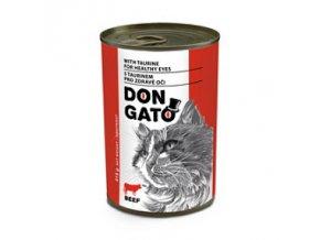DON GATO konzerva kočka hovězí 415 g