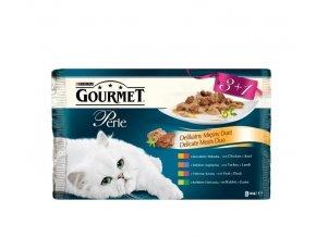 Gourmet Perle 85g 3+1 zdarma masové Dou ve šťávě
