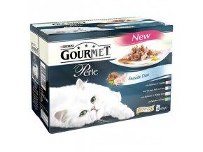Gourmet Perle 12 x 85g Rybí Dou ve šťávě