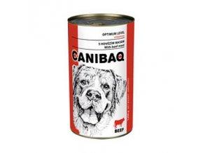 CANIBAQ Classic konzerva pes hovězí 1250 g