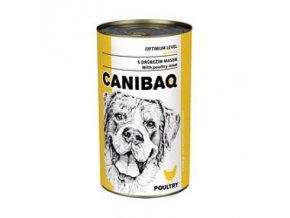 CANIBAQ Classic konzerva pes drůbeží 1250 g