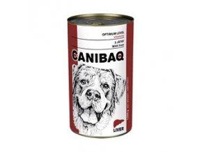 CANIBAQ Classic konzerva pes játra 1250 g