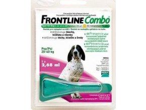 FRONTLINE COMBO Spot on Dog 20 40
