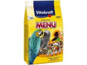Vitakraft Menu Premium kompletní krmivo s medem pro velké papoušky