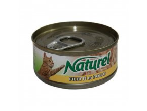 Naturel cat can Chicken 70g1