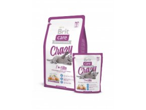 Brit care Crazy Kitten 2 kg