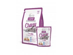 Brit care Crazy Kitten 2 kg