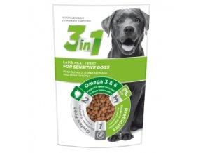 3in1 pochoutka Dog Sensitiv jehneci 100g