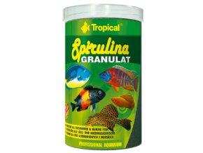 spirulina granulát