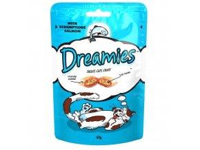 Dreamies losos 60g