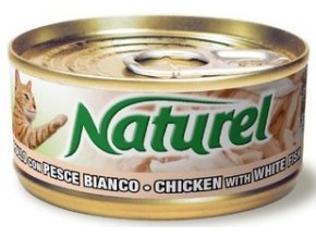Naturel cat can Chicken fish 70g