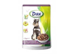 DAX dog 100g pouch turkey and duck jpg