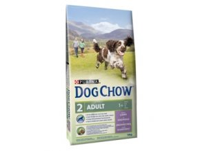 Dog Chow adult jehněčí 14 kg