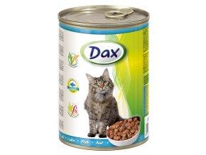 Dax 415g kousky kocka ryba