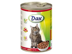 Dax 415g kousky kocka hovezi