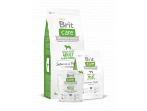 Brit Care Grain free Adult Large Breed Salmon & Potato