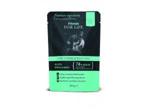 cat pouch sterilized 85g