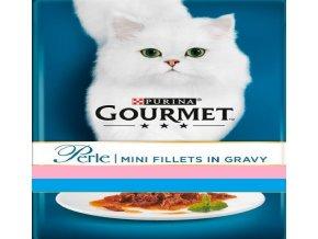 Gourmet Perle 4 x 85g Gravy Delight losos a tuňák