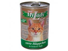 MyLady kočka drůbež + zvěřina 415g