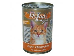 MyLady kočka krocan + kachna 415g