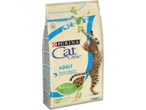 CAT CHOW ADULT losos a tuňák 1,5kg