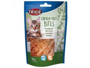 trixie premio chicken filet bites 50g 1