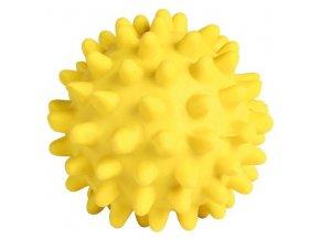 HRAČKA míč ježatý 6cm žl