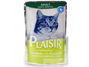 Plaisir cat 100g losos+treska