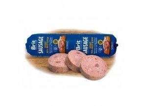 Brit Sausage 800g hovězí+ryba