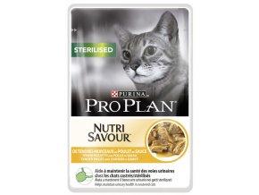 Purina Pro Plan Cat sterilised kuře 85g