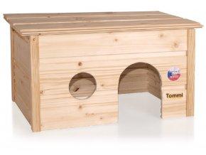 Domek pro králíky Tommi snímatelná střecha