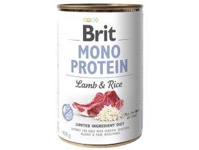 Brit Mono Protein Lamb Rice 400g
