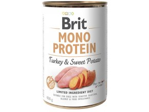 Brit Mono Protein Turkey Sweet Potato 400g