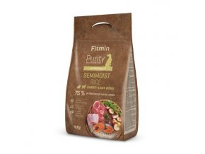 Fitmin kompletní krmivo pro psy Purity Rice Semimoist Rabbit&Lamb
