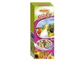 Tyčinky deluxe s vitamíny a medem pro malé papoušky