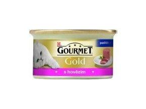 Gourmet paštika gold s hovězím