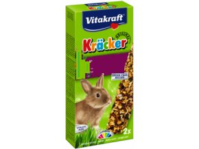 Kracker králík med a špalda 3ks 168g
