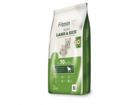 Fitmin kompletní krmivo pro psy Mini Lamb&Rice 3 kg