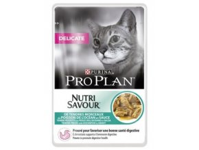 Purina Pro Plan Cat DELIKATE mořské ryby 85 g