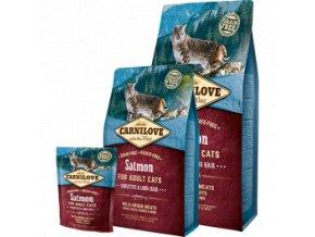 Carnilove CAT Salmon for Adult Sensitive Long hair 4