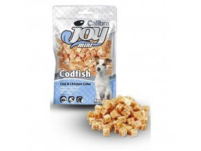 Calibra Joy Dog Mini 70g Cod + Chicken Cube NEW