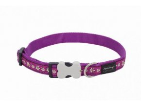 Obojek RD Daisy Chain Purple