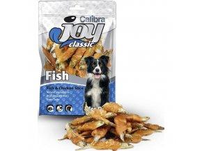 Calibra Joy Dog 80g Classic Fish+Chicken Slice