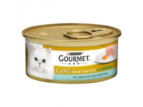 Gourmet Gold paštika losos s mrkví 85g
