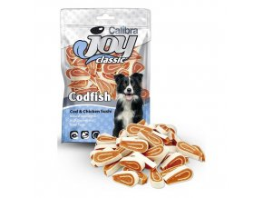 Calibra Joy Dog 80g Classic Cod + Chicken Sushi