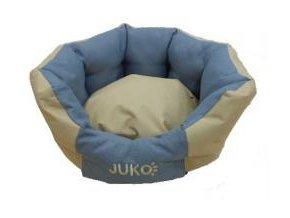Pelíšek odolný JUKO koruna XS 48x42x20cm Béžová