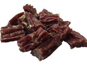 Kousky jehněčího masa ve vepřovém střívku 250g